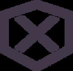 Hexagone avec une croix