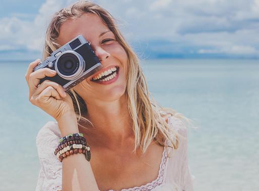 Você sabe como ficar com um sorriso bonito nas fotos?