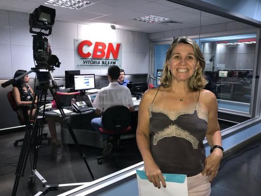 Dicas IOS de saúde bucal agora na Rádio CBN Vitória