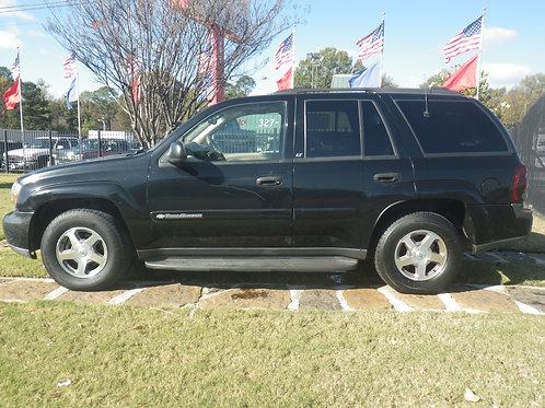 2003 Chevrolet Trailblazer Black