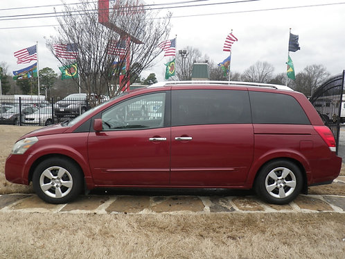 2007 Nissan Quest Burgundy