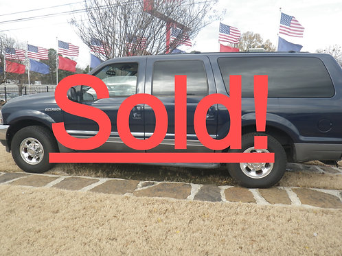 2002 Ford Excursion Blue