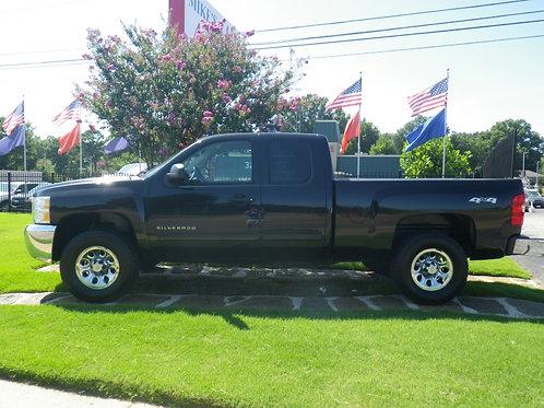 2012 Chevrolet Silverado Black