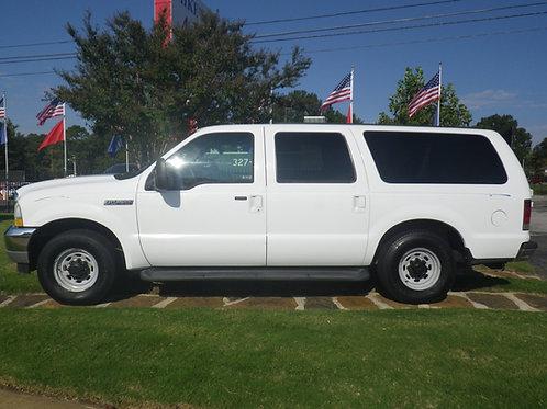2002 Ford Excursion White