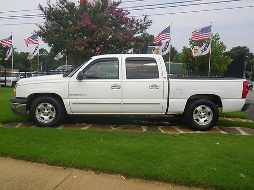 2006 Chevrolet Silverado White