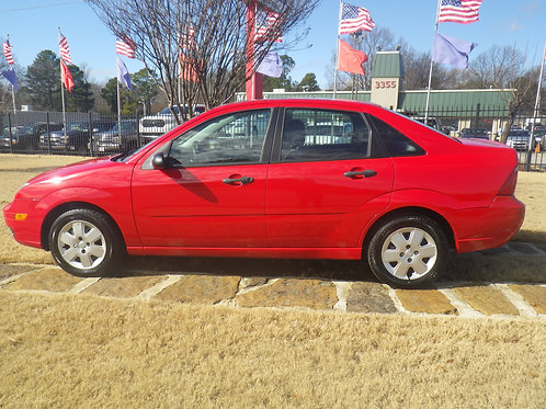 2007 Ford Focus Red