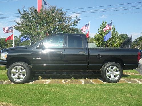 2008 Dodge Ram Black