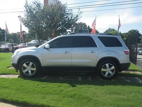 2010 GMC Acadia Silver