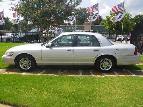 2002 Mercury Grand Marquis Silver