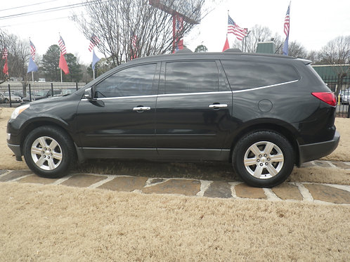 2011 Chevrolet Traverse Black