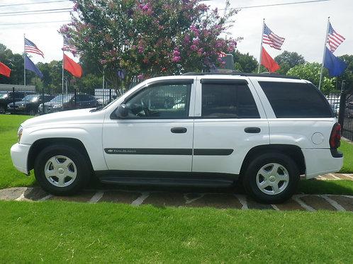 2003 Chevrolet Trailblazer White
