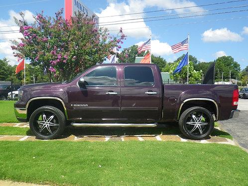 2008 GMC Sierra Purple