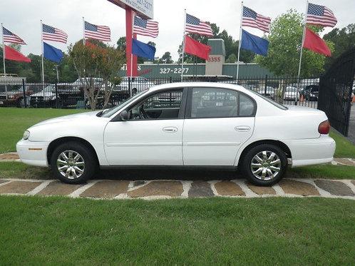 2004 Chevrolet Malibu White