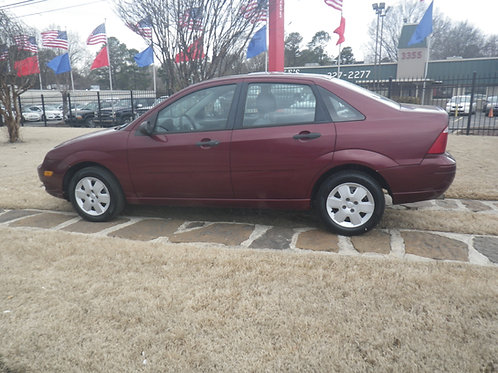 2007 Ford Focus Burgandy