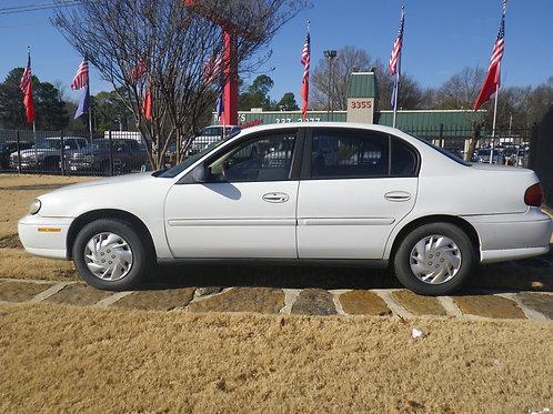 2003 Chevrolet Malibu White