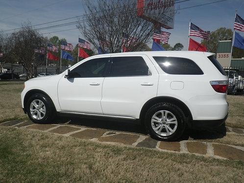 2013 Dodge Durango White
