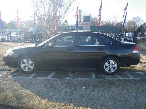 2011 Chevrolet Impala Black