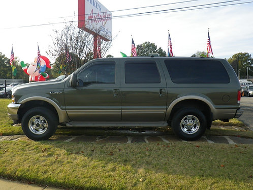 2000 Ford Excursion Green