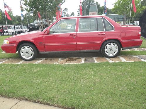 1996 Volvo 960 Red