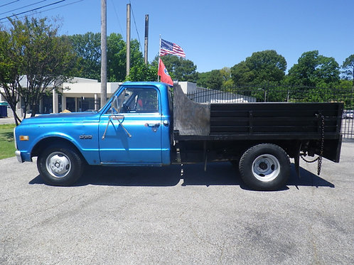 1969 Chevrolet C30 Dump Blue