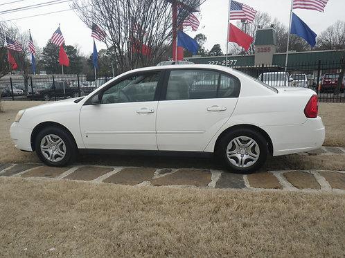 2007 Chevrolet Malibu White