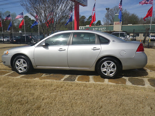 2008 Chevrolet Impala Silver