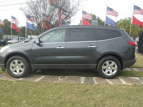 2012 Chevrolet Traverse Gray