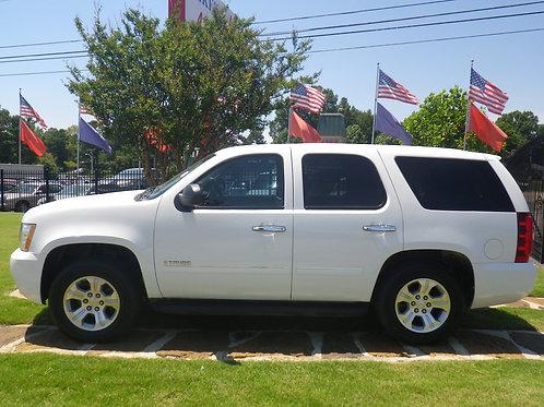 2011 Chevrolet Tahoe White