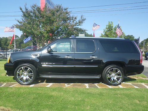 2007 Cadillac Escalade Black