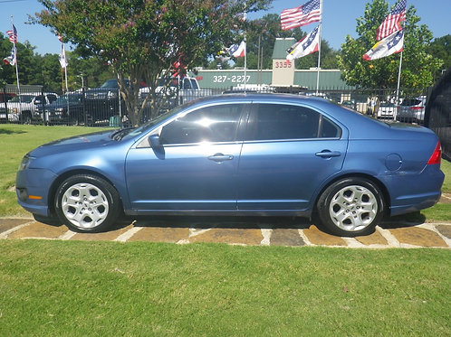 2010 Ford Fusion Blue