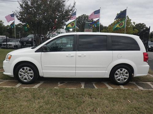 2014 Dodge Caravan White