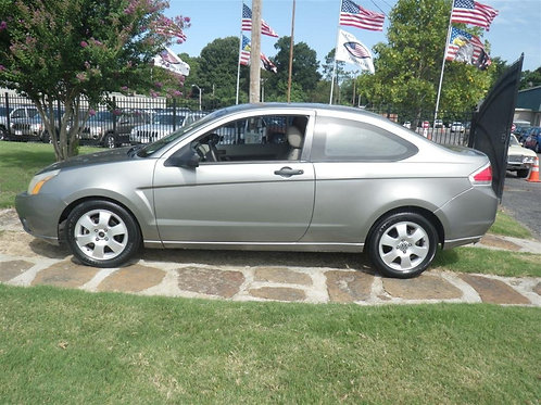 2008 Ford Focus Silver