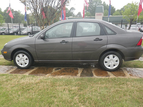 2007 Ford Focus Gray