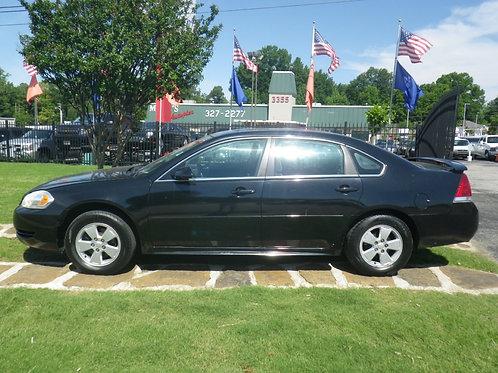 2012 Chevrolet Impala Black