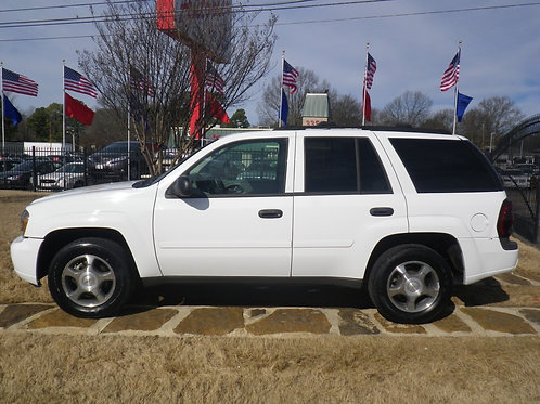 2007 Chevrolet Trailblazer White