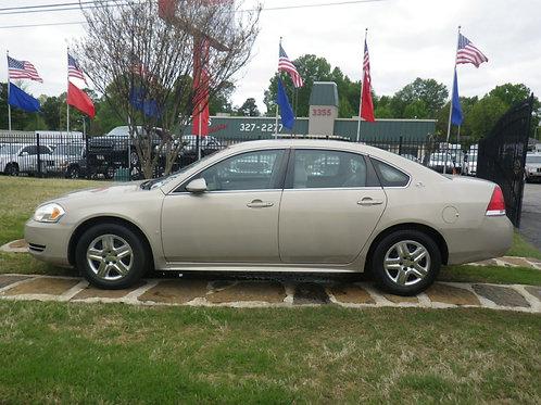 2009 Chevrolet Impala Gold