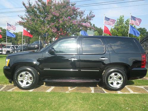 2012 Chevrolet Tahoe Black