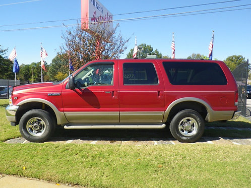 2001 Ford Excursion Red (5828)