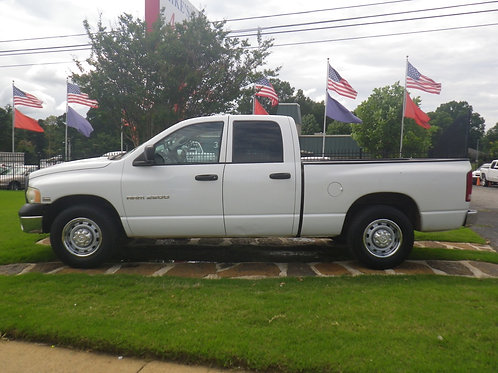 2005 Dodge Ram 2500 White