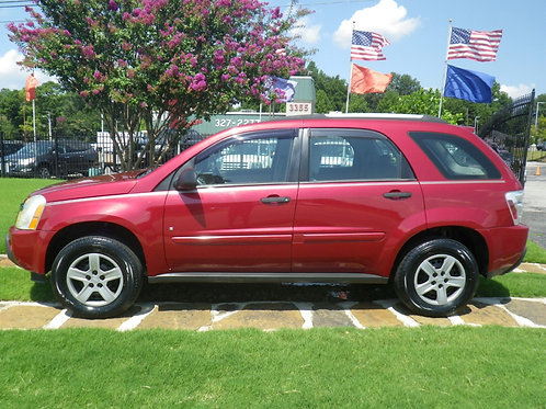 2006 Chevrolet Equinox Red