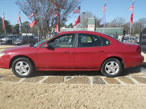 2000 Ford Taurus Red