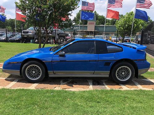 1987 Pontiac Fiero Blue