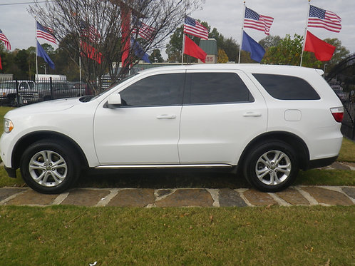 2013 Dodge Durango White
