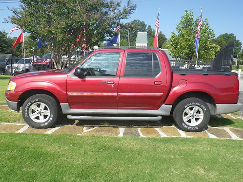 2005 Ford Sport Trac Red
