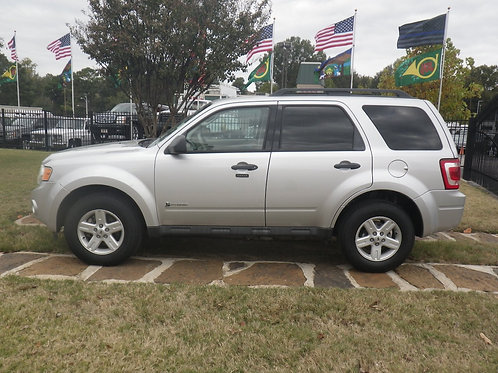 2010 Ford Escape Silver
