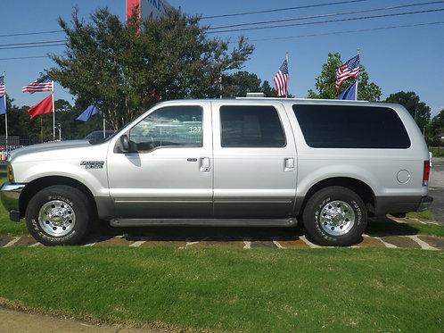 2001 Ford Excursion Grey