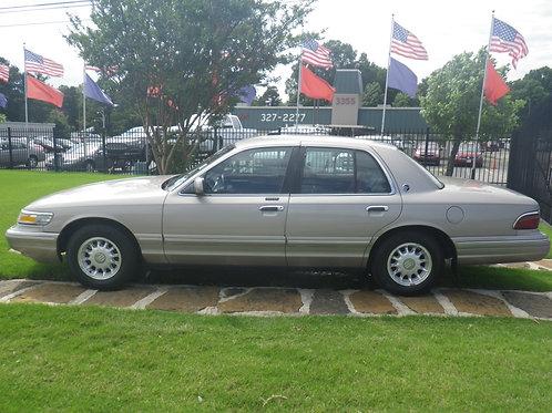 1995 Mercury Grand Marquis Pewter