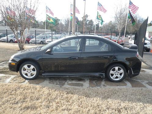 2003 Dodge Neon R/T Black