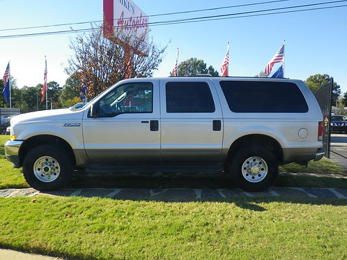 2004 Ford Excursion Silver (5846)
