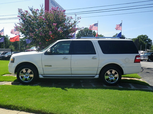 2007 Ford Expedition White